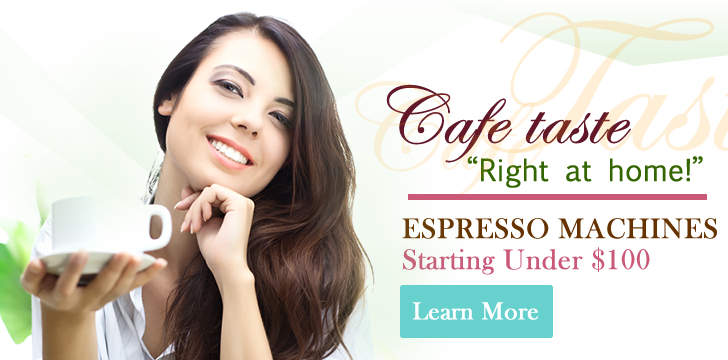 Instant Savings on Espresso Machines