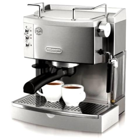 De'Longhi EC702 15-Bar-Pump Espresso Maker, Stainless
